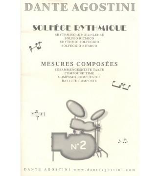 SOLFÈGE RYTHMIQUE, volume 2...