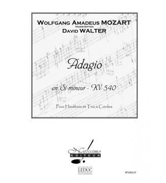 Adagio En Si Mineur Kv 540