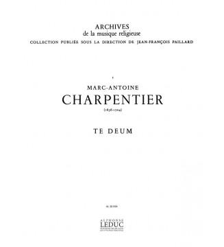 Te Deum Soli-Choeur - Satb