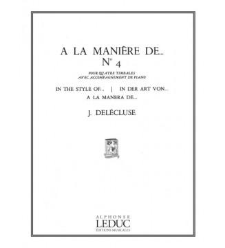 A La Maniere De N04