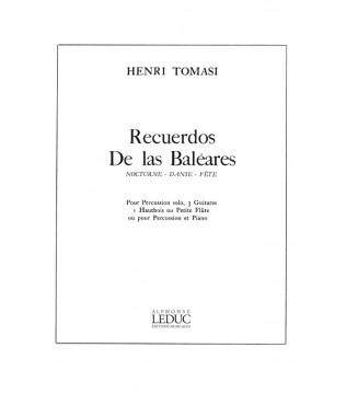 Henri Tomasi: Recuerdos de...