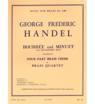 Bourree And Minuet-Fireworks