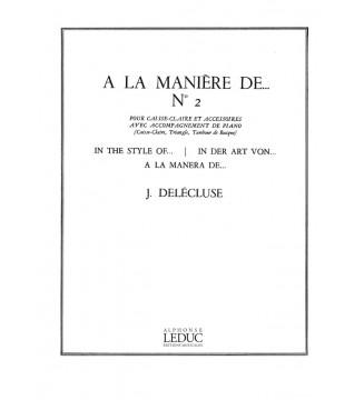 A La Maniere De N02