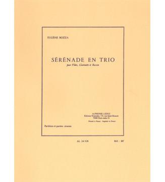Eugene Bozza: Trio serenade
