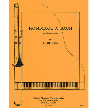 Tribute to Bach, for...