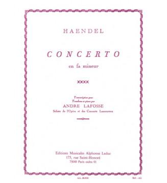 Concerto in F minor...
