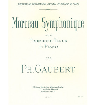 Symphonic Piece, for Tenor...