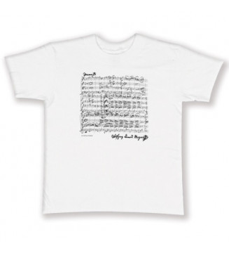 T-Shirt Mozart white S