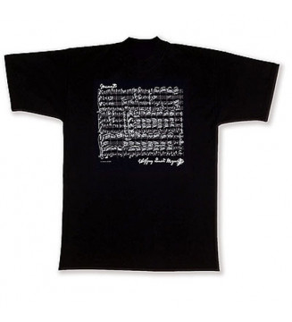 T-Shirt Mozart black L
