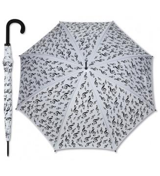 Umbrella G-clef white