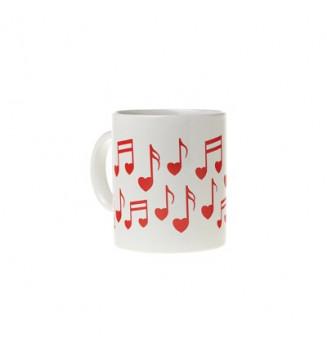 Heart Note Mug
