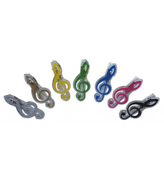 Paperclips G-clef assorted...