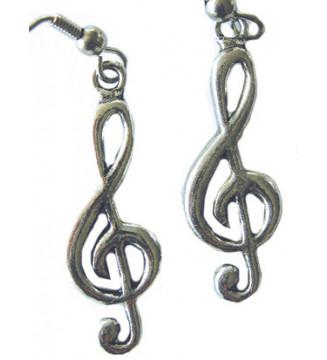 Earrings Treble Clef