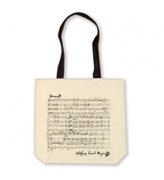 Shopper Mozart white