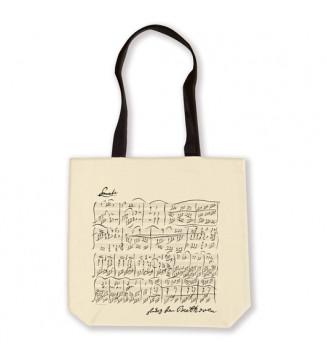 Shopper Beethoven white