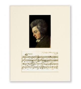 Passepartout Mozart Portrait