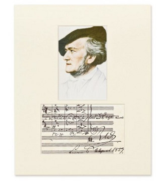 Passepartout Wagner- Portrait