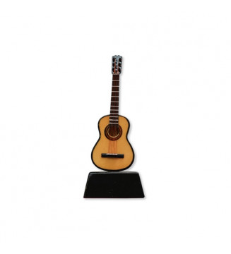 Miniature Guitar on stand