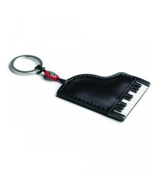 Italian Leather Keyring -...
