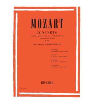 Concerto Per Clarinetto In...