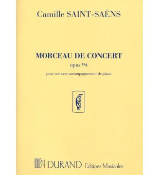 Saëns, Camille  Morceau De...