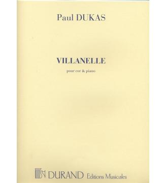 Villanelle Cor/Piano...