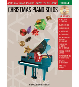Christmas Piano Solos Fifth...