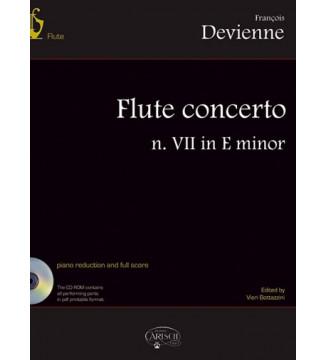 FLUTE CONCERTO N. VII IN E...