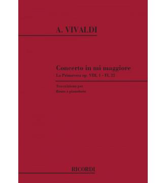 Concerto In Mi Maggiore...