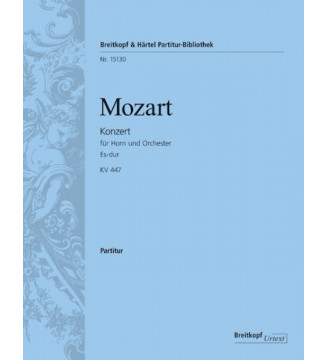 Horn concerto [No. 3] in Eb...