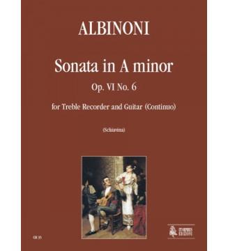 Sonata Op 6 No 6 In A Minor...