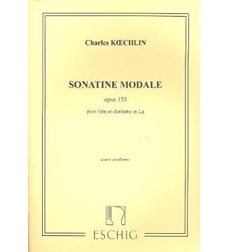 Sonatine Modale Opus 155