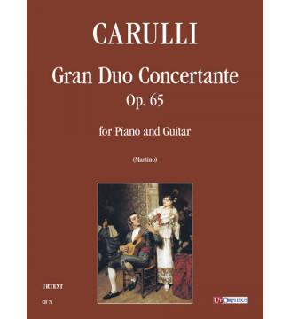 Gran Duo Concertante op. 65