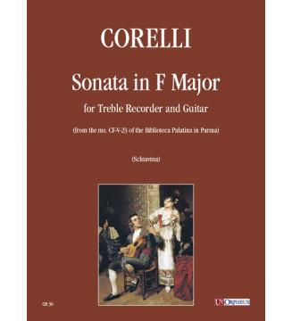 Sonata In F Major Treble...