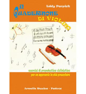 Il quadernone di violino