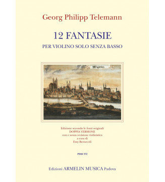 12 Fantasie Per Violino o Solo