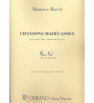 Chansons Madecasses Chant...