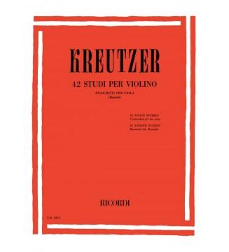 42 Studi Per Violino