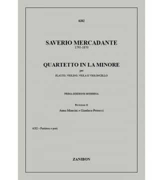Quartetto In La Minore