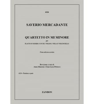 Quartetto In Mi Min.