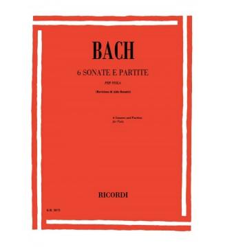 6 Sonate e Partite Bwv...