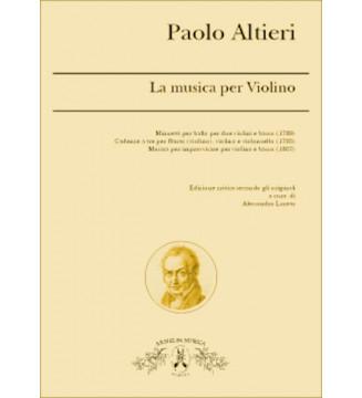 L'Opera Per Violino o...