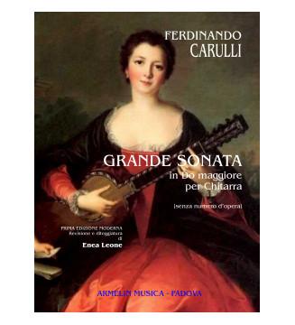 Grande Sonata Per Chitarra...