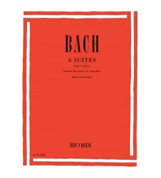 6 Suites Per Violoncello...