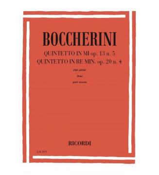 Quintetti: N. 1 In Mi Op....