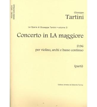 volume 03 : Concerto in La...