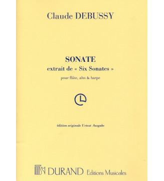 Sonate Flute/Alto/Harpe...