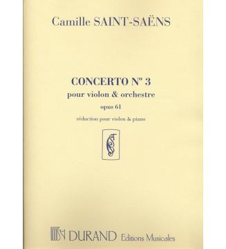Concerto n 3 Op 61 Vl/Piano