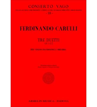 3 Duetti, Op 5[C]
