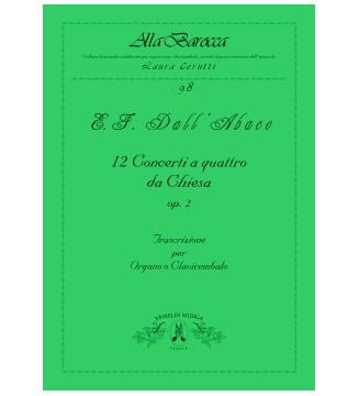12 Concerti A 4 Da Chiesa,...